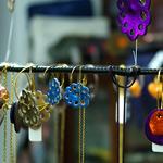 Smycken i butiken Tiger Lily i Köpenhamn. Foto: Louise Larsson
